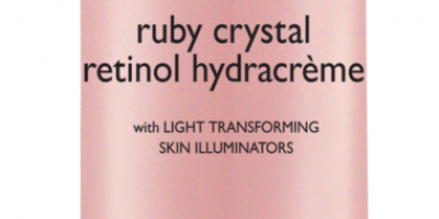 Radiant skin with Ruby Crystal Retinol Hydracreme from Dr. Brand